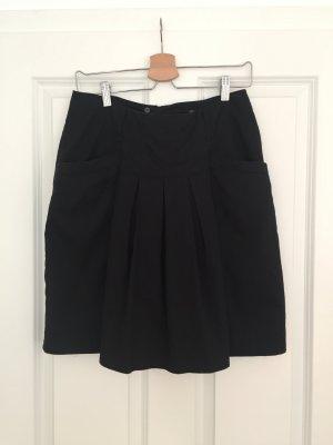H&M Plaid Skirt black cotton