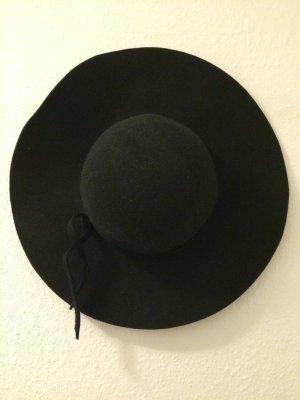 Brandy & Melville Chapeau à larges bords noir