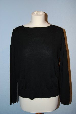 schwarzer Pullover von Esprit Collection in Größe S