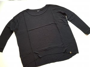 COS Knitted Sweater black