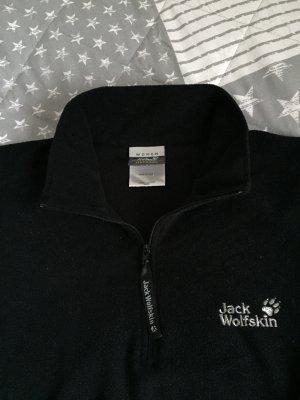Schwarzer Fleece Pullover von Jack Wolfskin