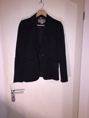 Schwarzer glänzender Blazer von Zara