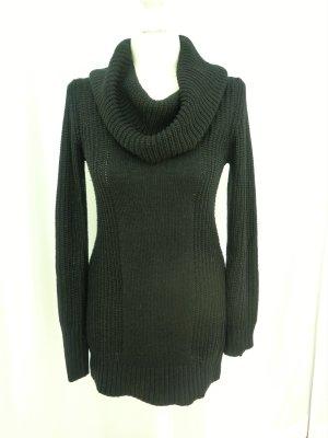 H&M Divided Grof gebreide trui zwart Acryl