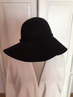 Review Cappello a falde larghe nero
