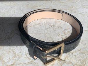 H&M Cintura in ecopelle nero