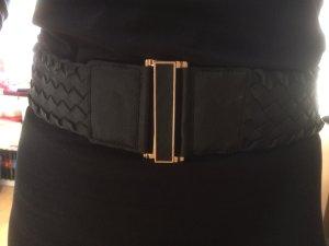 Mango Cinturón pélvico negro-ocre