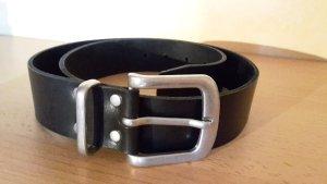 Pieces Faux Leather Belt black