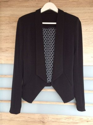 gwynedds Blazer de esmoquin negro-color plata