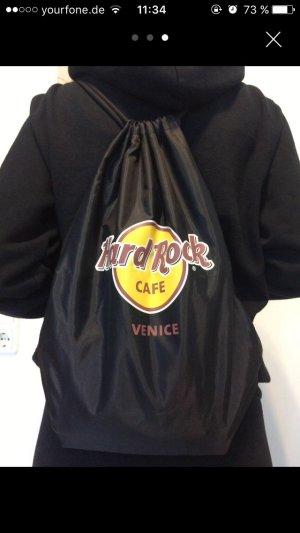 Schwarzer Hard Rock Cafe Gym Sack Venice