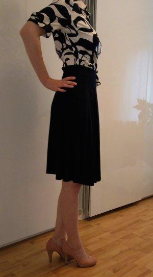 Asos High Waist Skirt black viscose