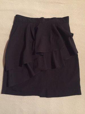 High Waist Skirt black