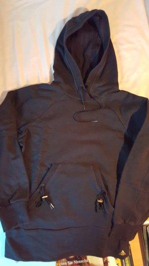 Schwarzer Hoodie aus Baumwolle von ADIDAS  Gr. 40