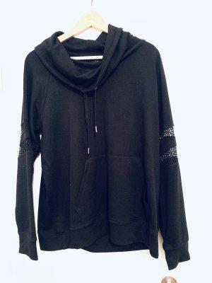 Oversized Sweater black cotton