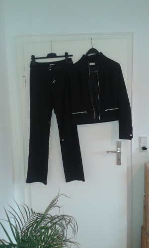 Xanaka Trouser Suit black polyester