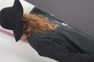 schwarzer Hut im Blogger Style