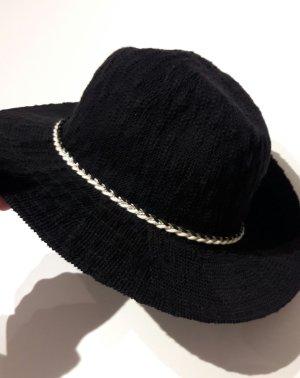 Schwarzer Hut *neu* *ungetragen*