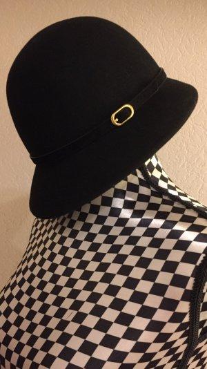 H&M Chapeau en laine noir