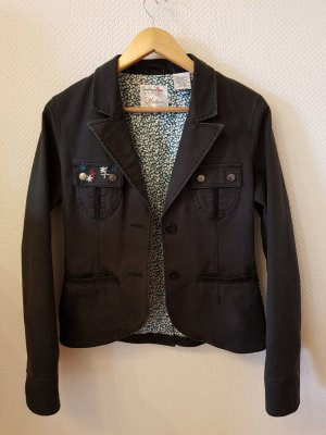 Triple Five Soul Denim Blazer black