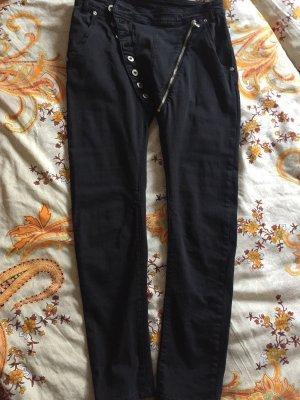 Slim Jeans black cotton