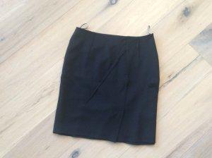 Schwarzer Jersey-Bleistiftrock