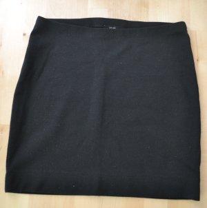 Schwarzer Jerseyrock von H&M Unterrock Minirock