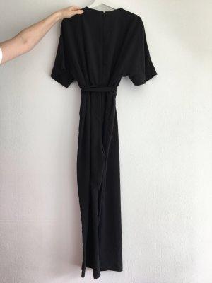 Monki Pantalone culotte nero Poliestere
