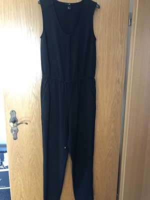 schwarzer Jumpsuit, Gr. 36