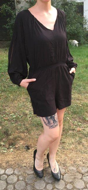 schwarzer Jumpsuit Größe 38