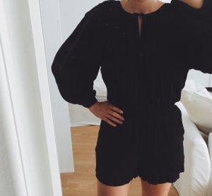 Schwarzer Jumpsuit von H&M in Größe 36