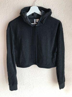 H&M Divided Cropped Shirt black