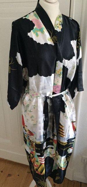 Kimono black-white