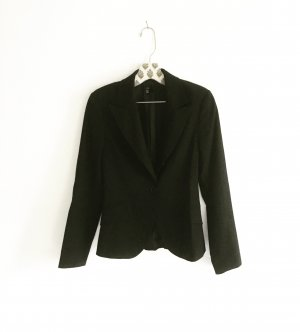 schwarzer klassischer blazer / zara / classy / business look