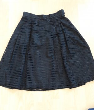 H&M High Waist Skirt black polyester