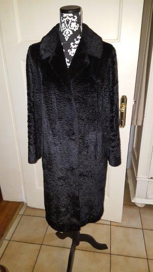 Fake Fur Coat black