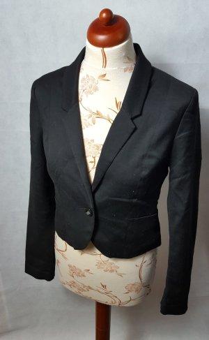Schwarzer Kurz Blazer von H&M