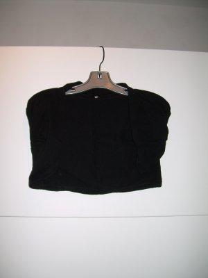 schwarzer Kurzarm-Bolero von Fishbone Gr. L/XL 40/42