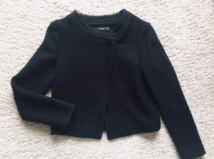 Hallhuber Blazer en laine noir