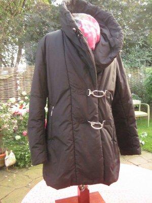Airfield Short Coat black polyester
