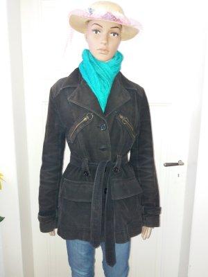 Hennes Collection by H&M Veste mi-saison multicolore coton