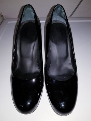 Schwarzer Lackpumps von Bally, Gr. 35