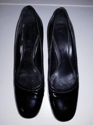 Schwarzer Lackpumps von Bally, Gr. 35.5