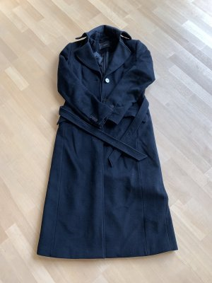 esprit collection Abrigo de lana negro