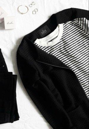 schwarzer langer Cardigan M DRYS