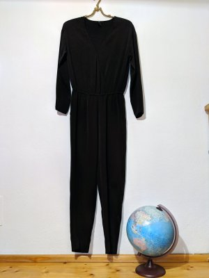 H&M Tuta nero-antracite