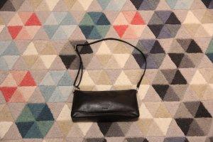 Schwarzer Leder Clutch Handtasche von Picard
