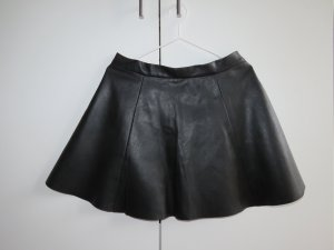 Pimkie Falda de cuero de imitación negro Poliéster