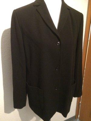 schwarzer Longblazer / Blazer und Hose / Anzug / Hosenanzug von Hirsch - Gr. 40,