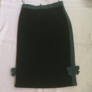 Louis Vuitton Pencil Skirt black velvet