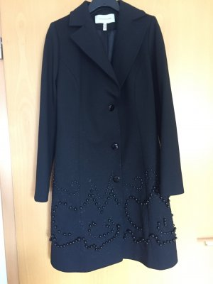 Short Coat black mixture fibre