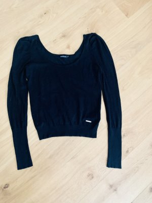 Calliope Crewneck Sweater black viscose